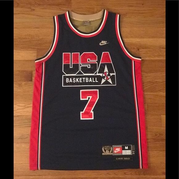 hot sale online 8aae1 03032 Nike Larry Bird 92 olympics dream team jersey